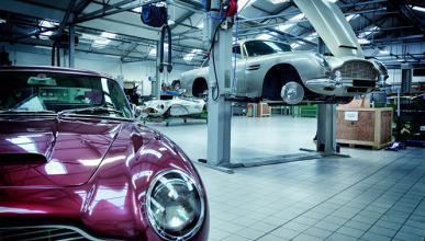Aston Martin certifica sus coches históricos