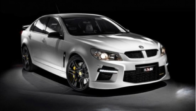Holden Commodore VFII: confirmado