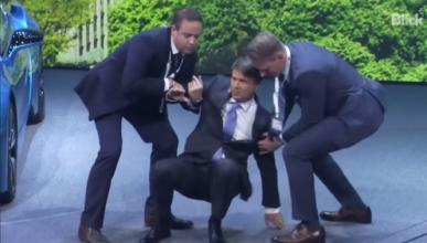 El CEO de BMW vuelve al trabajo tras su desmayo