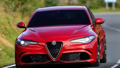 Alfa Romeo Giulia QV frontal