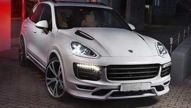 ¿Se arruina así un Porsche Cayenne?