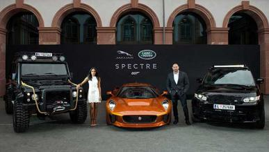 Coches Jaguar Land Rover James Bond Spectre
