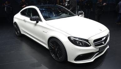 Mercedes Clase C Coupé Frankfurt 2015