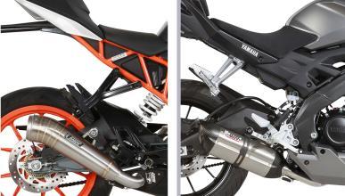Escapes MIVV para las motos de 125 cc