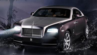 El Rolls-Royce Wraith más hortera de Frankfurt
