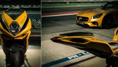 MV Agusta y Mercedes AMG crean una F3 muy especial