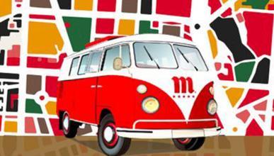Descubre Madrid en un VW T1 y con una cerveza en la mano