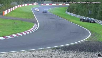 Vídeo: espectacular salida de pista en Nürburgring