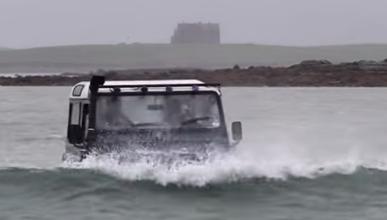 Un Land Rover Defender ¡que nada!