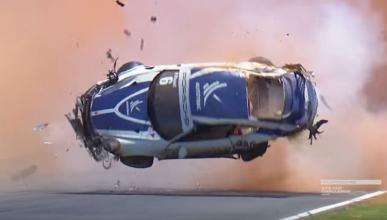 Brutal accidente de Pedro Piquet en el Porsche GT3 Cup