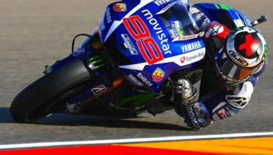 Libres MotoGP Aragon 2015: Lorenzo apabulla