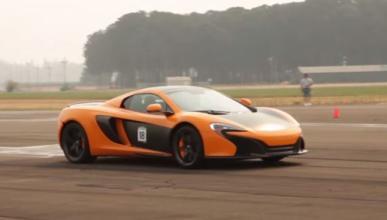 Vídeo: al volante de un McLaren 650S ¡con 12 años!