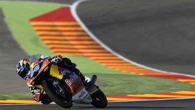 Carrera Moto3 Aragón 2015: Oliveira, el más listo