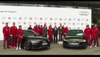Audi jugadores bayern munich