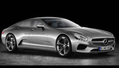 Mercedes Concept IAA: ¿un rival del Tesla Model S?