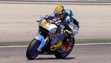 Tito Rabat se estrena con la Honda de MotoGP en Motorland