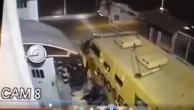 Brutal vídeo: asalta un furgón Prosegur y roba una fortuna
