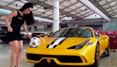 Moda, fútbol y coches: ¡una chica todoterreno!