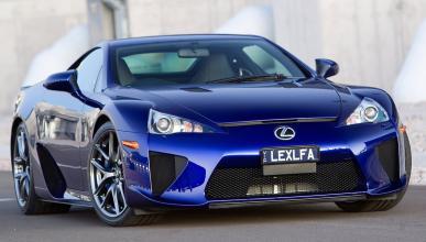 El Lexus LFA del futuro será híbrido y de la mano de BMW