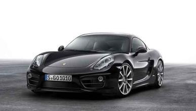 Porsche Cayman Black Edition: todo al negro