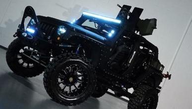 Jeep Wrangler Full Metal Jacket calibre 50