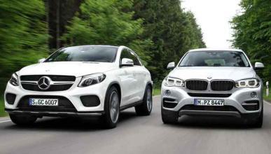 ¿Mercedes GLE Coupé o BMW X6?