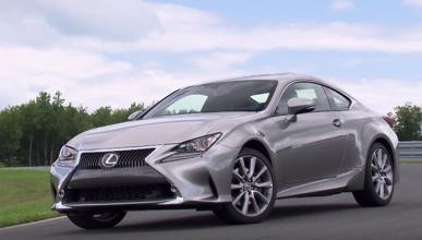 Lexus RC Coupé 2016, bonito ¿verdad?