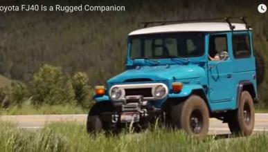 Petrolicious la lía 'off road' con un Toyota FJ40