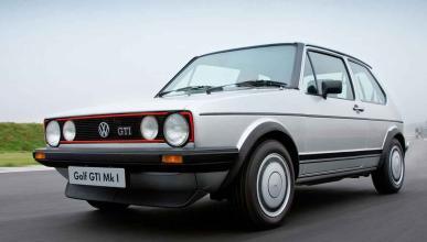 VW Golf GTI Mk1 tres cuartos delanteros morro