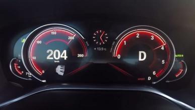 Vídeo: así acelera el nuevo BMW 730d xDrive