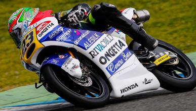Libres Moto3 Motegi 2015: Antonelli no deja ni las migas