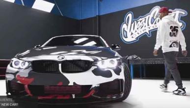 El hortera del día: tunea su BMW inspirándose en sus Nike