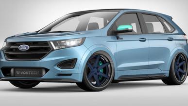 Tres preparaciones del Ford Edge Sport para el SEMA 2015