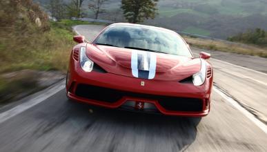 Sale a la venta un Ferrari 458 Speciale único