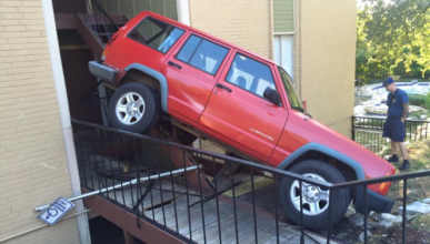 Jeep Cherokee accidente