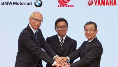 BMW, Honda y Yamaha socios en materia de seguridad