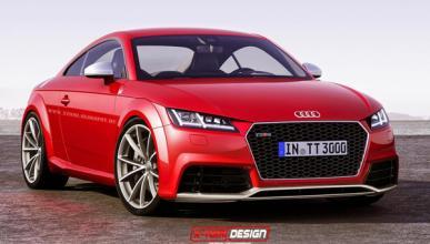 Audi TT-RS 2016, ¡vaya morro!