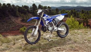 Yamaha vuelve a lanzar una enduro 2 tiempos, la WR 250