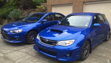 Mitsubishi Evo X 'vs' Subaru WRX STI: ¿la última vez?