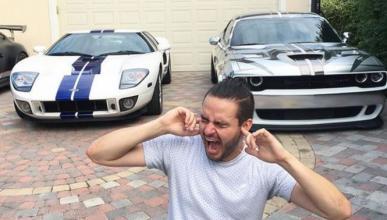 La batalla de sonidos: Ford GT vs Challenger Hellcat