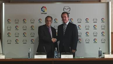 Mazda, nueva estrella de la Liga de Fútbol española