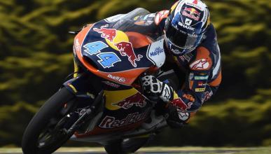Carrera Moto3 Phillip Island 2015: Oliveira evita el alirón