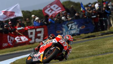 Carrera MotoGP Phillip Island 2015: Márquez gana el clímax