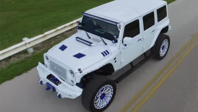 MC Customs mete mano al Jeep Wrangler