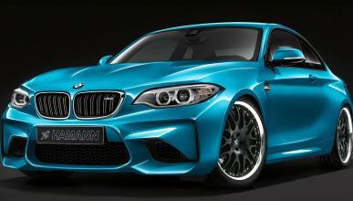 Así luce el BMW M2 con un toque de Hamann