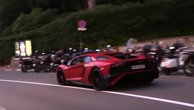 Un Lamborghini Aventador SV de alquiler