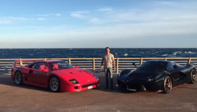 Ferrari F40 y Ferrari LaFerrari Felipe Massa