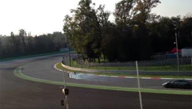 Así derrapa un Ferrari LaFerrari en Monza