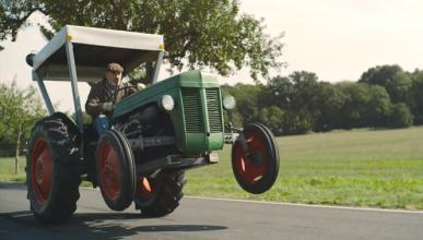 Este tractor V8 de 425 CV es el mejor vehículo de reparto