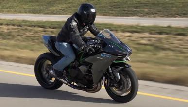 Una Kawasaki Ninja H2 con 70 CV más